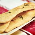 Herbed Flatbread from a Martha Stewart recipe. © Sugar + Shake