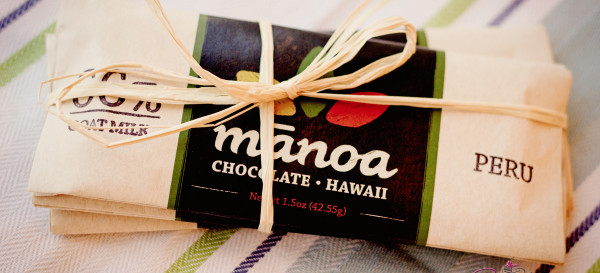 Bars from a boutique chocolate company, Manoa Chocolate. © 2012 Sugar + Shake