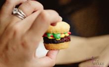 Is it a cupcake? Is it a burger? It's both! It's the most adorable hamburger in Hilo, found at Short N Sweet Bakery. © 2012 Sugar + Shake