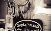 Okolemaluna Tiki Lounge in Kona was named one of Imbibe Magazine's 10 Best Tiki Bars. © 2012 Sugar + Shake
