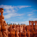 On the Navaho Loop Trail at Bryce Canyon National Park: Thor's Hammer and the Three Sisters. © 2013 Sugar + Shake