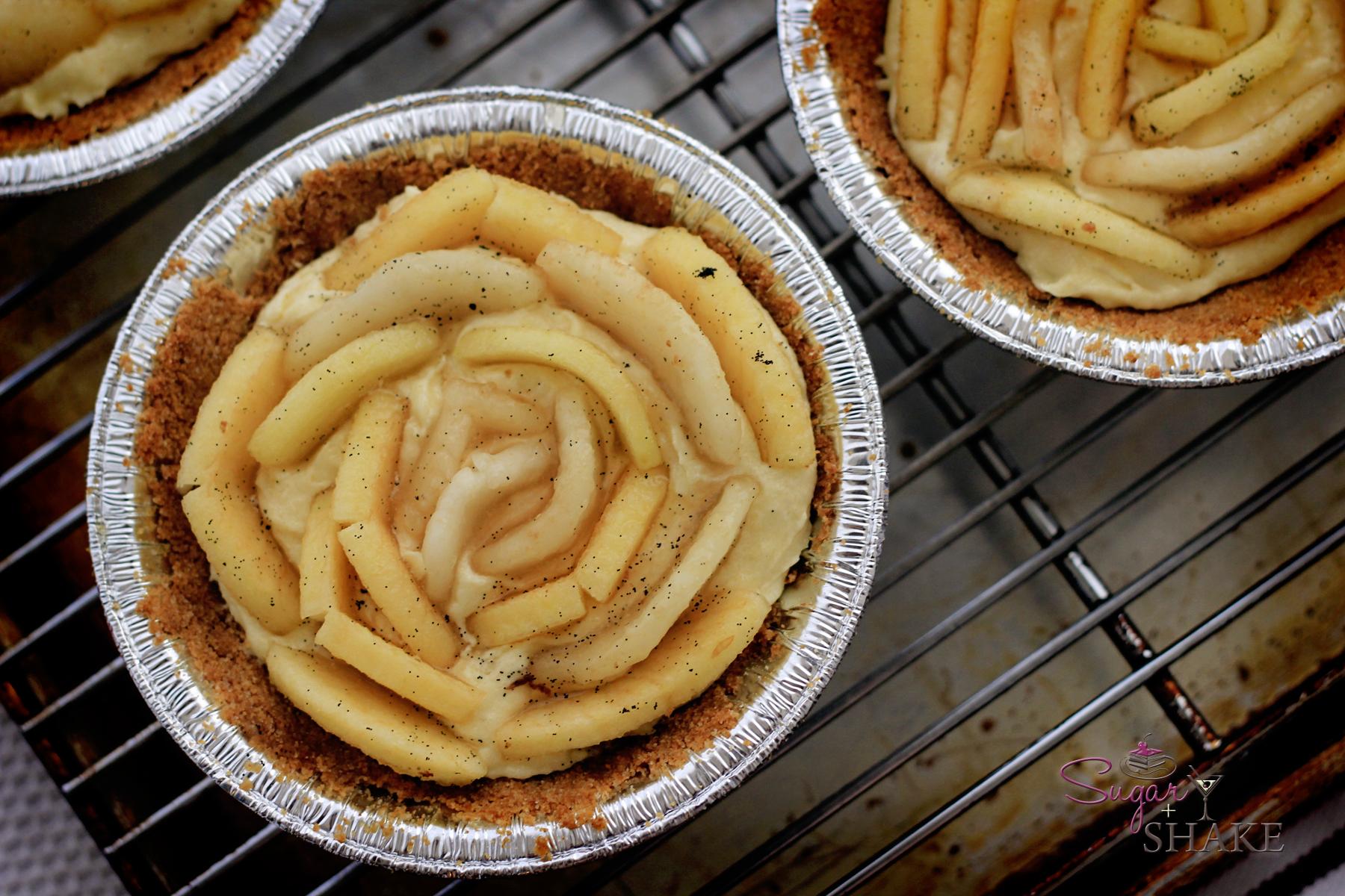 ... Photo — Apple & Pear Whiskey-Almond Custard Tart | Sugar + Shake