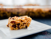 Bourbon Salted Caramel and Bacon–Cacao Nib Krispie Squares. © 2015 Sugar + Shake